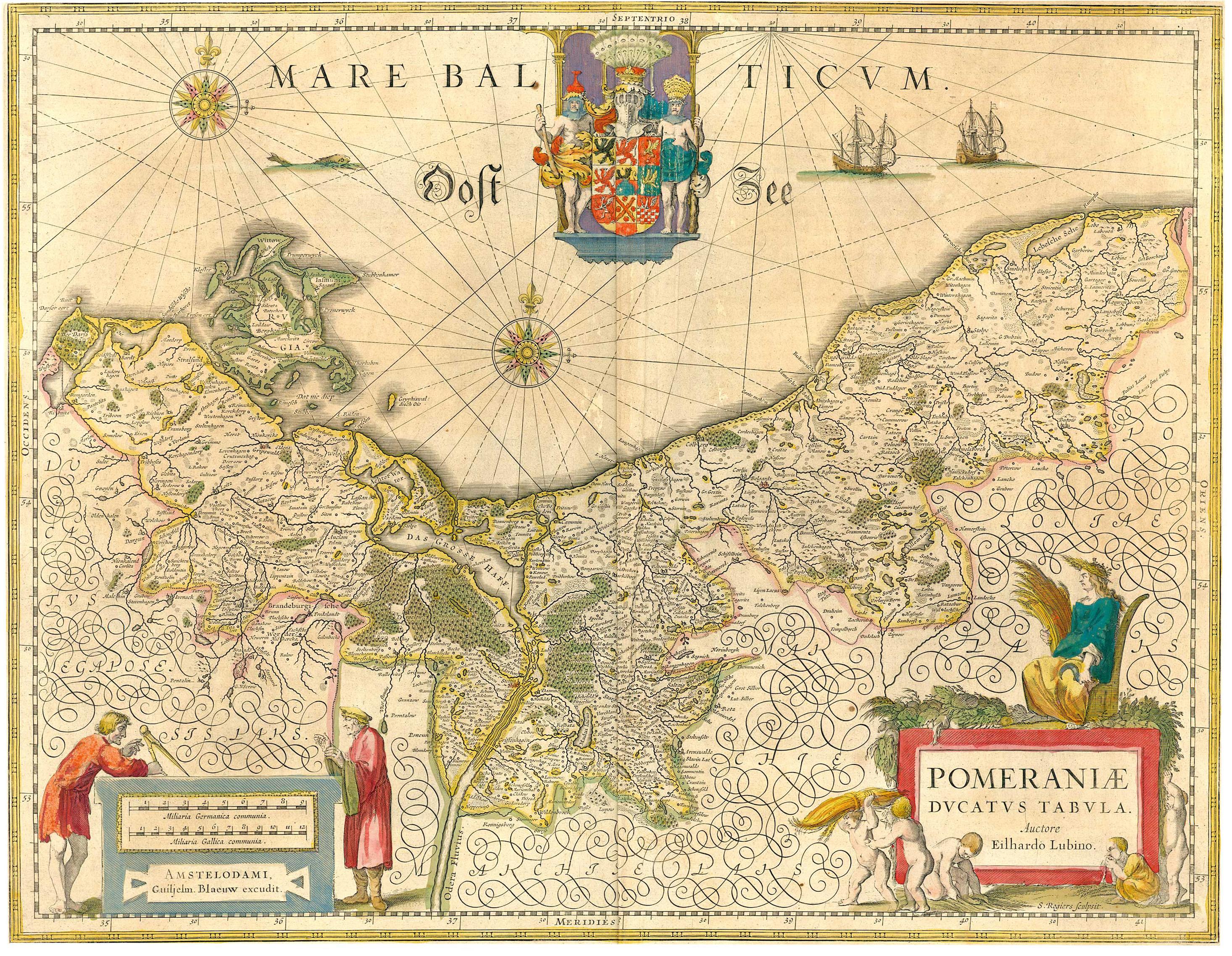 pommern karte Karten von Pommern | Der Familienstammbaum